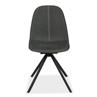 Hemingway Swivel Chair - Grey