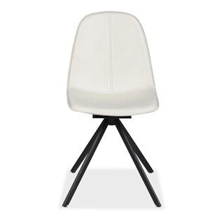 Hemingway Swivel Chair - Cream