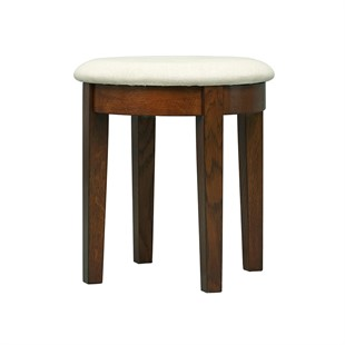 Winchcombe Dark Oak NEW Dressing Table Stool