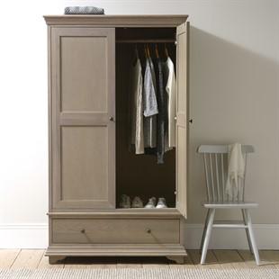 Winchcombe Smoked Oak NEW Double Wardrobe