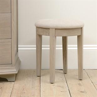 Winchcombe Smoked Oak NEW Dressing Table Stool