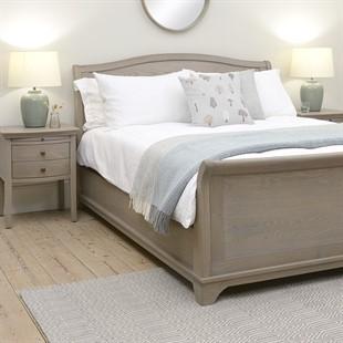 Winchcombe Smoked Oak NEW 5ft Kingsize Sleigh Bed