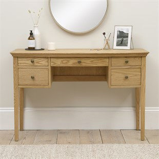 Winchcombe Oiled Oak NEW Dressing Table