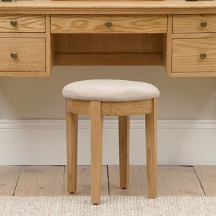 Winchcombe Oiled Oak NEW Dressing Table Stool