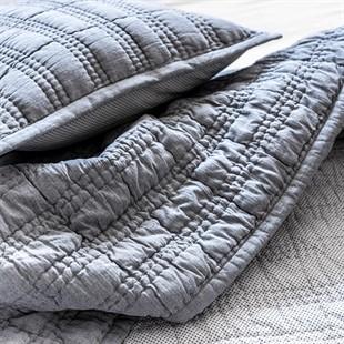 Herringbone Chambray Bedspread 250x260cm