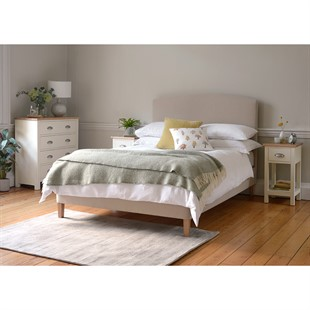 """Cecily 4ft 6"""" Double Bed - Sand"""