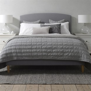 """Cecily 4ft 6"""" Double Bed - Restful Grey"""