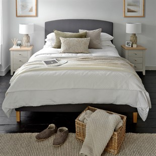 Cecily 5ft Kingsize Bed - Charcoal