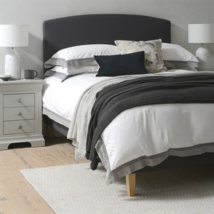 Cecily 6ft Super Kingsize Bed  - Charcoal