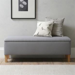 Cecily Ottoman - Restful Grey