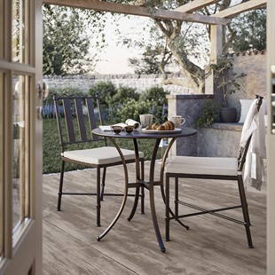 Barrington Bistro Set - Round Table and 2 Chairs