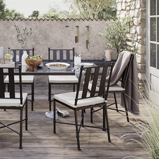 Barrington Dining Set - Rectangular Table and 6 Chairs