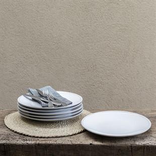 Cherwell 28cm Dinner Plate - White