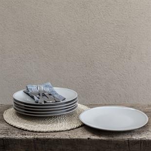 Cherwell 28cm Dinner Plate - Grey