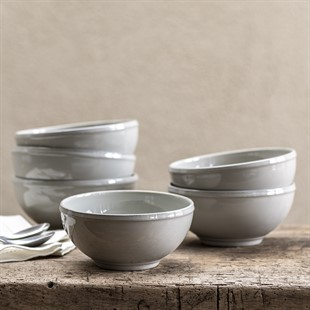 Cherwell 16cm Soup/Cereal bowl - Grey