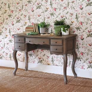 Camille Limewash Oak Dressing Table