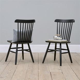 Spindleback Chair - Charcoal