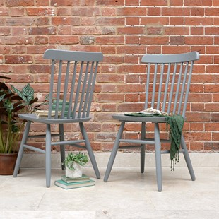 Spindleback Chair - Storm Grey