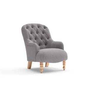 Grace - Armchair - Mid grey - Cotswold Weave