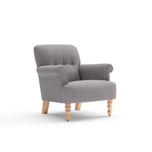 Harriet - Armchair - Mid grey - Cotswold Weave