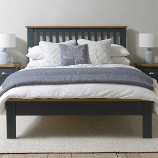 """Westcote Inky Blue 4ft 6"""" Double Bed"""