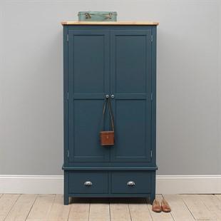 Westcote Inky Blue Double Wardrobe