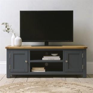Westcote Inky Blue Large TV Unit - Up to 57''