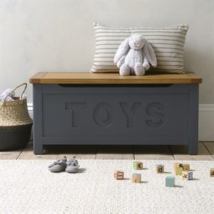 Westcote Inky Blue Toy Box