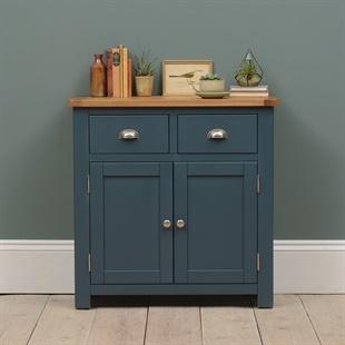 Westcote Inky Blue 2 Door 2 Drawer Sideboard