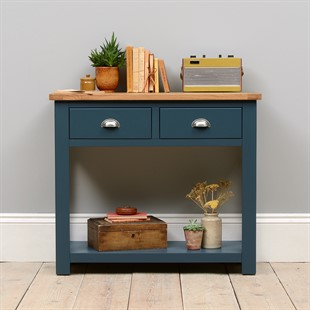 Westcote Inky Blue Console Table