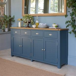 Westcote Inky Blue Extra Large Sideboard