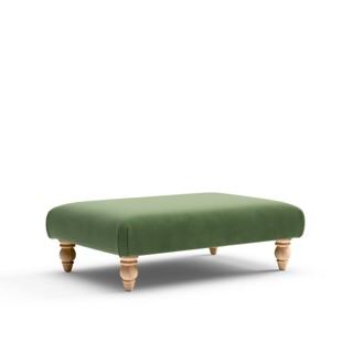 Clara - Foot stool - Fir - Matt Velvet