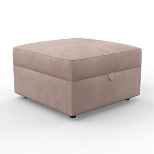 Molly - Foot stool - Blush - Classic Velvet