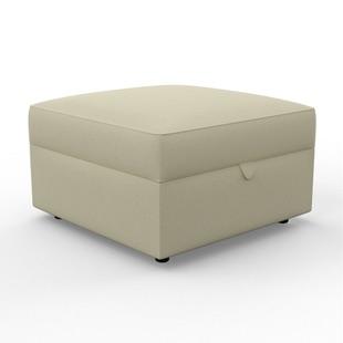 Molly - Foot stool - Stone - Chunky Cotton
