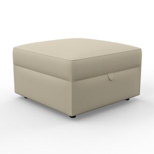 Molly - Foot stool - Straw - Coastal Linen