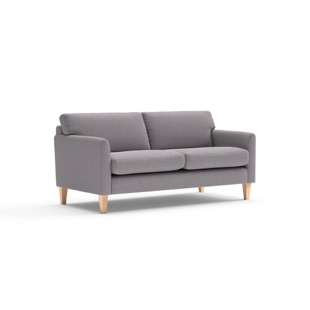 Cooper - 2.5 Seater - Mid grey - Cotswold Weave