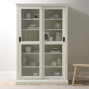 Stow Warm White NEW Glazed Display Cabinet