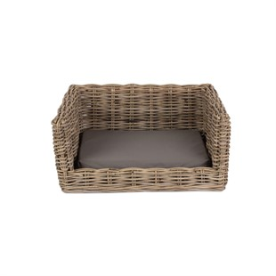 Luxury Rattan Dog Bed - Small