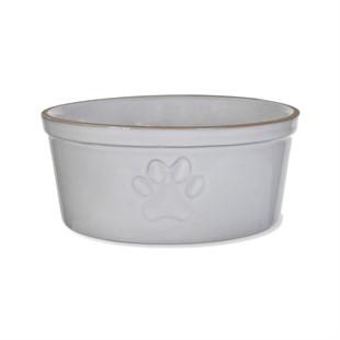 Paw Print Pet Bowl - Large