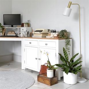 Chalford Warm White Cupboard
