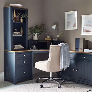 Chalford Inky Blue Complete Office Suite
