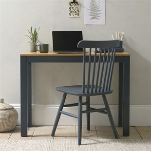 Chalford Inky Blue Large Simple Desk