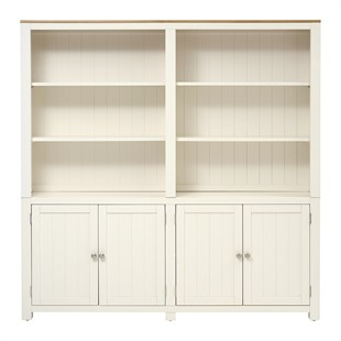 Chalford Warm White Library Cabinet