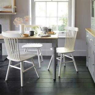 Farmhouse Storm Grey 122cm Table