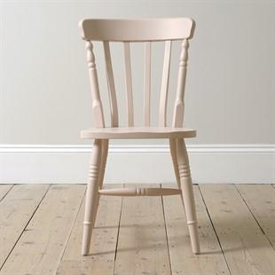 Farmhouse Blush Pink Kitchen Chair