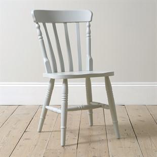 Farmhouse Blue Mist Kitchen Chair