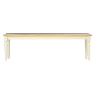 Farmhouse Cotswold Cream Large Dining Bench