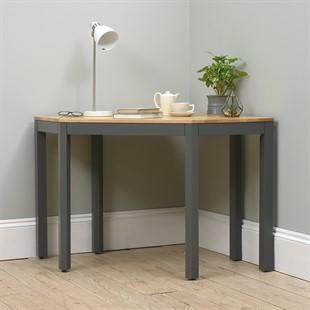 Chalford Dark Grey Corner Desk
