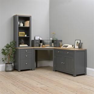 Chalford Dark Grey Complete Office Suite