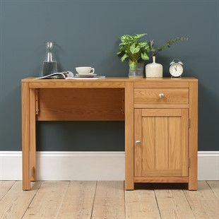 Chalford Oak Single Pedestal Desk